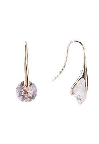 Mestige 金色 金色 Eclipse 耳環With Swarovski Crystals 4A506ACA2545D7GS_1