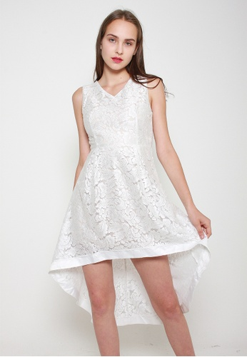 Leline Style white Riley Lace Dress 42A33AAAE65F98GS_1