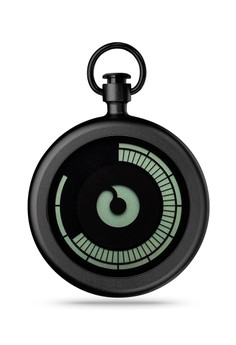 Titan Black Pocket Watch