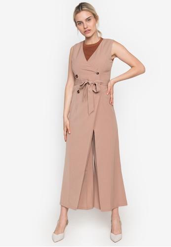 CLN beige Spiritual Dress A6638AAF406E92GS_1