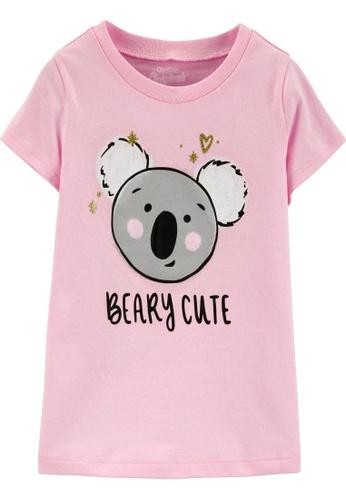 Oshkosh B'gosh pink OSH KOSH Girl Pink Koala Graphic Tee 718F1KAEE4A44EGS_1