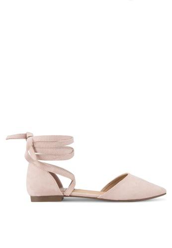 Billini pink Zenya Flats BI606SH27RKAMY_1