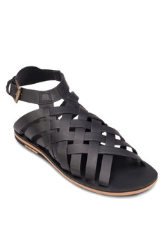 Leather Criss Crosssandals