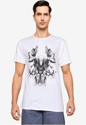 LC Waikiki white Marvel Characters Short Sleeves T-shirt B1B0CAACC0F822GS_1