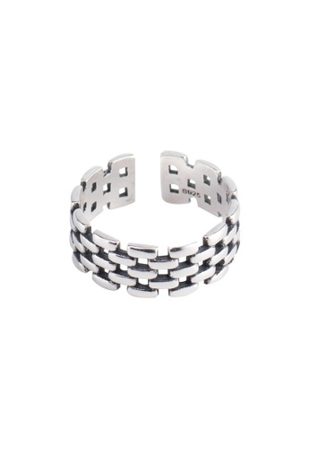 A-Excellence silver Premium S925 Sliver Diamond Ring 64185AC86C570DGS_1