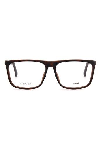 Gucci GUCCI Eyewear 1096/F DWJ GU112AC65FDEMY_1