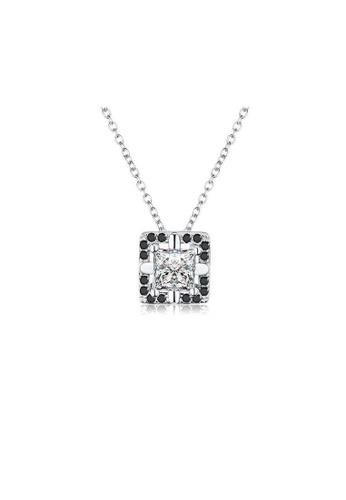 A-Excellence white Premium Elegant White Sliver Necklace 9FD35ACC0F3CB7GS_1