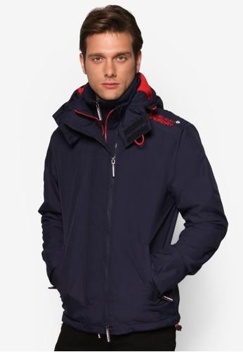 高領連帽冬裝外套, 服飾, esprit台灣官網服飾