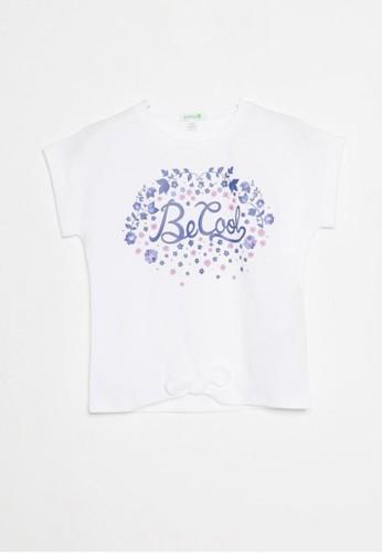 Bossini white Bossini Kids Girl T-Shirt Wht Pearl (04083100001) FD768KA55D3A26GS_1