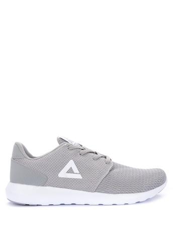 PEAK grey Slider Lifestyle Sneakers E4DD6SH1FFD8E2GS_1