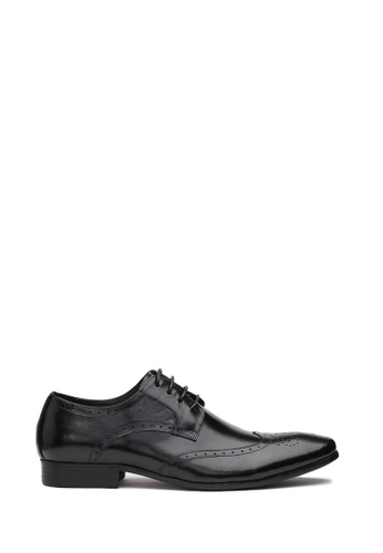 Kings Collection black Bradley Oxford Shoes 4A105SH6057BEBGS_1