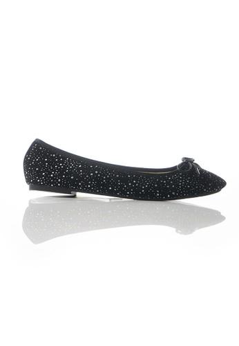 MARCHA BALLERINA black Marcha Ballerinas BL Black Sliver Star 5D4AFSH0068662GS_1