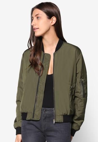 Basic Padded Bomber Jacket, 服飾, 夾克 &ampesprit outlet hong kong; 大衣