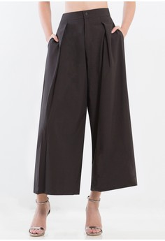 [PRE-ORDER] Culottes with pleats