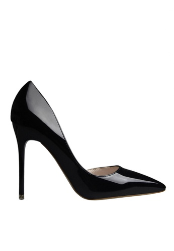 Twenty Eight Shoes black Unilateral Open Evening and Bridal Shoes VP-6385 A91A7SHAEA2A83GS_1