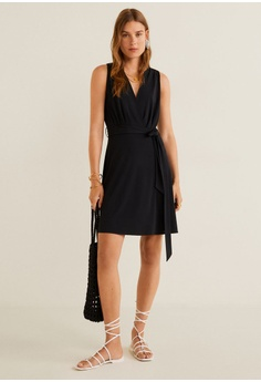 b84b2d13bb98 46% OFF Mango Bow Short Dress HK$ 259.00 NOW HK$ 139.00 Sizes XS S M L