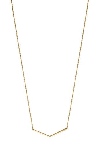 Esprit gold ESPRIT [Core] Gold Sterling Silver Necklace (42 cm + 3 cm extension) 20A01AC20FB0D8GS_1
