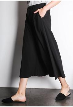 5a12c723072 SALIENT LABEL Barette Extreme Flare Palazzo Pants in Black S  57.50. Sizes  L XL XXL