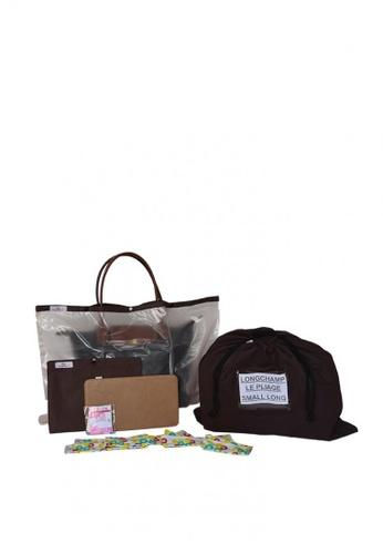 2923e8b4a86c Oh My Bag beige Bag Care Bundle for Longchamp Le Pliage Small Long Handle  42370AC702A9B2GS 1