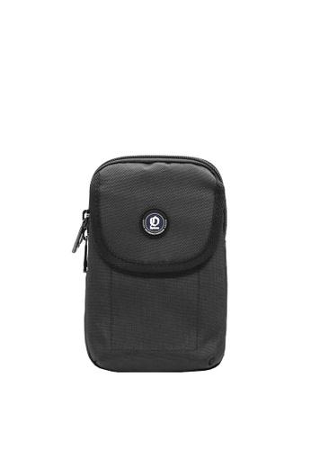 OPTIONS black Leo Single Zip Phone Pouch 327ECACE4EACA7GS_1