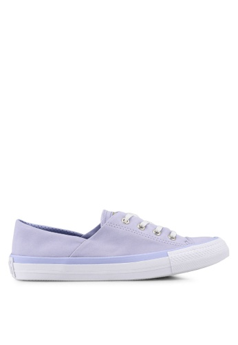 c6a7796c78dd1 Converse purple Chuck Taylor All Star Coral Ox Shoes D3F95SH460CAFAGS 1