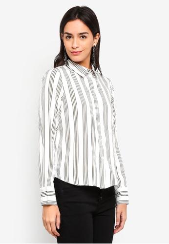 Vero Moda white Nicky Shirt EE3E6AA6C6E126GS_1
