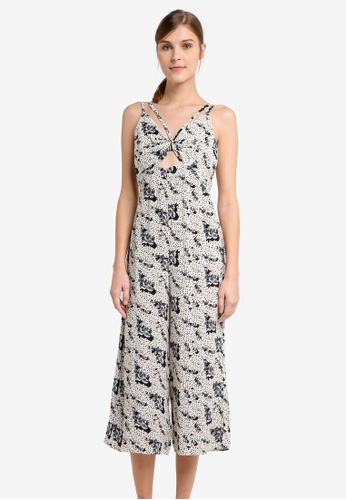 d5be9c66a244 Buy TOPSHOP Petite Floral Jumpsuit Online on ZALORA Singapore