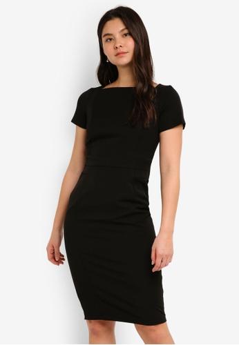 Dorothy Perkins black Black Workwear Dress D4BE1AACA06D55GS_1