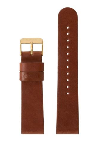 KOMONO brown Winston or Walther 20 Cognac Gold Strap KO163AC0T0TVMY_1