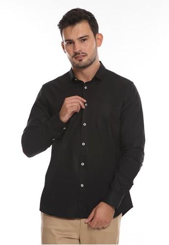 Manzone black PHILLY 2-BESTBUY-BLACK Shirt E6F86AA81A4AA8GS_1