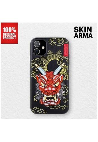 """Skinarma black Skinarma - Casing Iphone 11 6.1"""" - Yokai - Akki Red 510F9ES0367C91GS_1"""