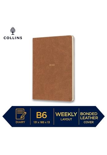 Collins Collins Metropolitan  Sydney ─ 2021 Calendar Year Diary ─ Tan ─ B6 Week to View 9FA2BHL4691F4FGS_1