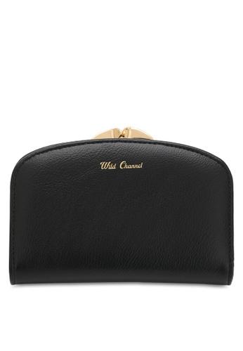 Wild Channel black Women's Bi Fold Wallet 07857AC4AA84CBGS_1