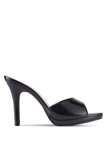 Bata black Bata Slip On Heels 81817SHE1A81C4GS_1