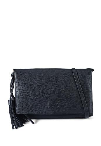 Tory Burch 黑色 Thea Foldover Crossbody Bag (NT) F336FAC14F0684GS_1