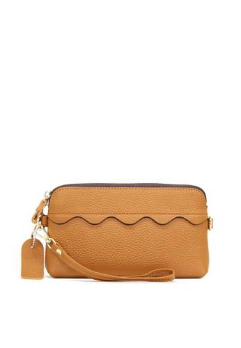 HAPPY FRIDAYS Zipper Litchi Grain Leather Wallet JN2087 8D3B7AC40DF0A4GS_1