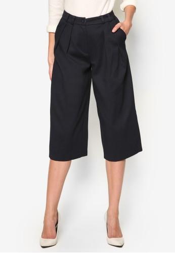 棉質五分寬管褲, 服飾, 長褲zalora 心得及內搭褲