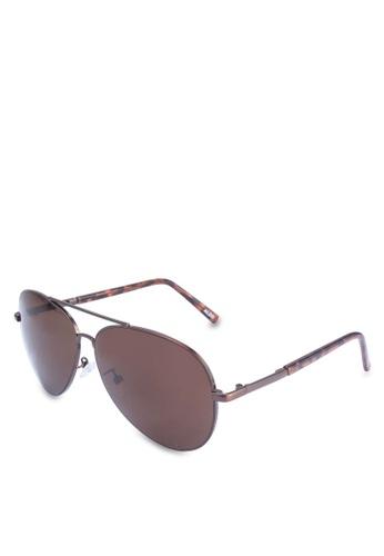 ALDO brown Potoroo Sunglasses 63147GL1CDA738GS_1