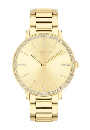 COACH gold Coach Audrey Gold Women's Watch (14503355) 63A09ACA89932EGS_1