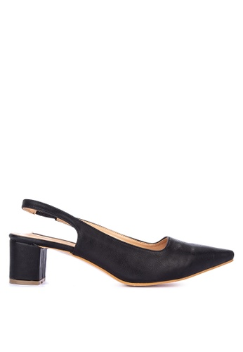 f0f9a83d5 Shop Primadonna Pointed Toe Slingback Heels Online on ZALORA Philippines