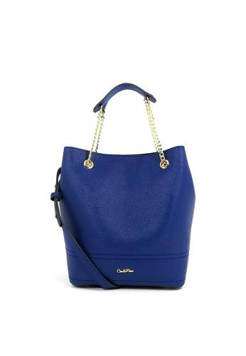 Carlo Rino blue Carlo Rino 0304162A-001-13 Drawstring bucket bag (Blue) AE3AFAC4F9F75DGS_1