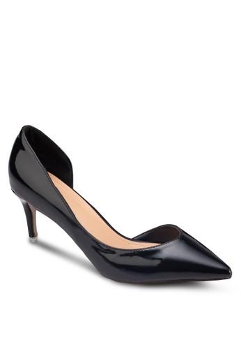 側鏤空尖頭高跟鞋,esprit 衣服 女鞋, 鞋