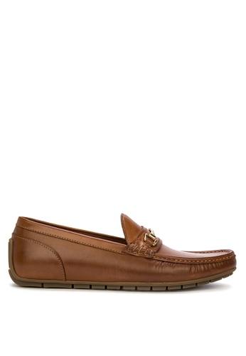 ALDO brown Meledor Loafers 86A11SHA7D8ADFGS_1