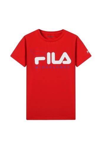 FILA red FILA KIDS FILA Logo MIND BLOWER T-shirt 8-15yrs 94AEEKA235C14BGS_1