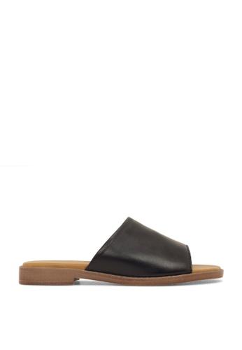 ROC Boots Australia black Loco Black/Natural Sandal RO289SH36BQHSG_1