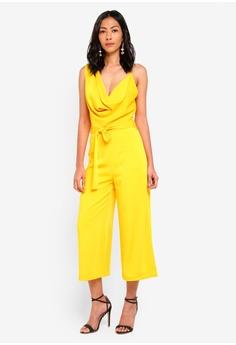 f9e7e1d655f 53% OFF Lavish Alice Cowl Neck Culotte Jumpsuit S  133.90 NOW S  62.90  Sizes 12 14
