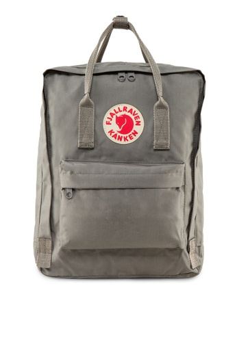 Fjallraven Kanken grey Fog Kanken Classic Backpack FJ859AC17FPESG_1