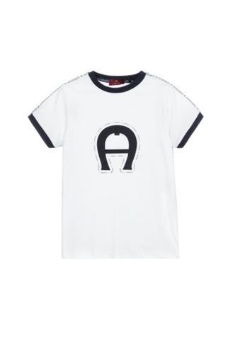 AIGNER KIDS white AIGNER BOYS T-SHIRT 345C4KA7CBC84DGS_1