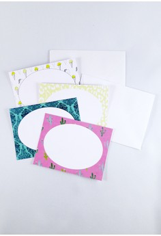 Summer Cacti Mini Notecards Set