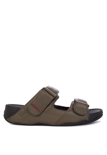 c66a06e2c570 Shop Fitflop Gogh Moc Slide In Leather Online on ZALORA Philippines